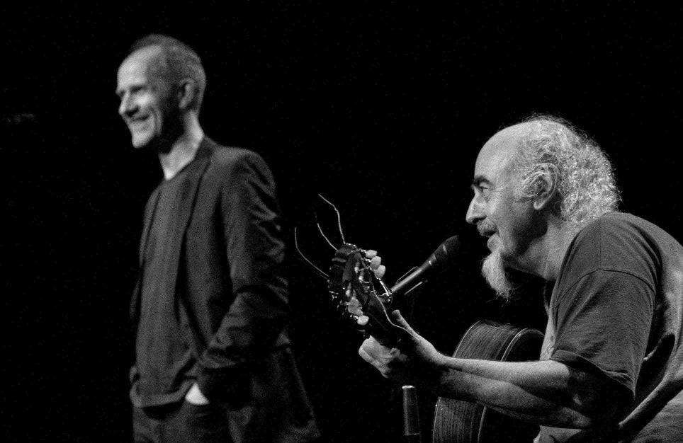 Iarla Ó Lionáird and Steve Cooney