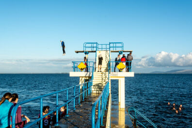 <p><strong>Freedom (II)</strong><br />Blackrock Diving Tower, Salthill, Galway 2019</p>