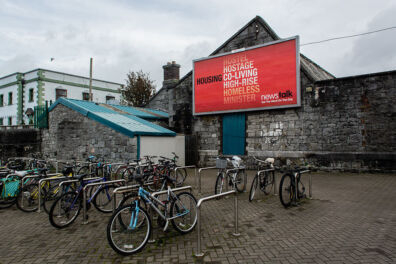 <p><strong>Housing crisis</strong><br />Galway 2019</p>