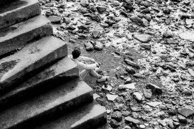 <p><strong>Solitude (III)</strong><br />River Thames, Bankside, London SE1, June 2020</p>