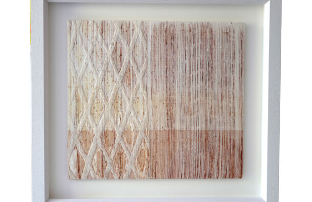 <p>Screenprint, weave and foil</p> <p>46 x 50 cm</p>  <p>Nominated by Creative Spark Print Studio</p>