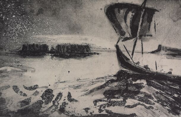 <p>Etching and aquatint on zerkell</p> <p>16 x 12.5 cm</p>  <p>Nominated by The Ballinglen Museum & Arts Foundation</p>
