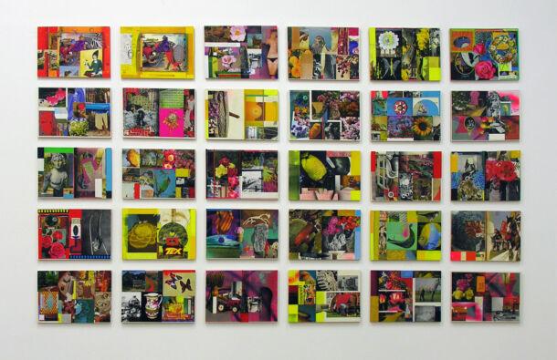 <p>Monoprint, Acrylic Stencil, Photomontage</p> <p>30 panels each 30 x 42 cm</p>  <p>Adjudicator for imPRESSions 2015</p>