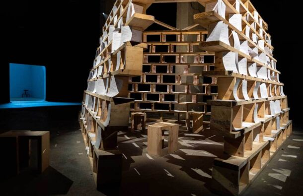 <p>House of Memory is designed by David Kelly and commissioned by Architecture at the Edge.</p>