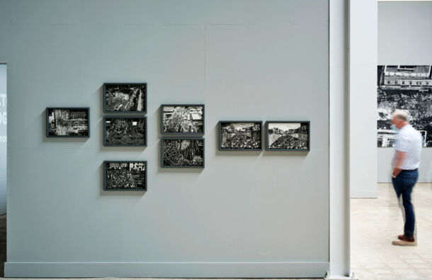 <p>Installation view of process drawings at Precarious Freedom at the Festival Gallery; 1-18 September 2021</p>