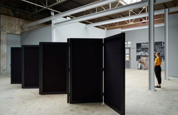 <p>Installation view of Precarious Freedom at the Festival Gallery; 1-18 September 2021</p>