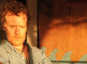 Glen Hansard with Damien Dempsey