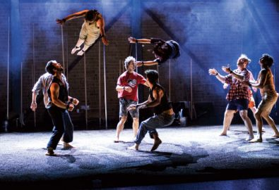 Australian Circus Group Returns to GIAF With Backbone, A High-Octane Exploration of Human Strength
