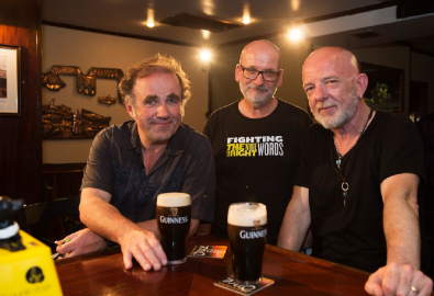 GIAF Hits the Wild Atlantic Way for Two Pints by Roddy Doyle
