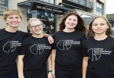 Galway International Arts Festival Volunteers Break Records