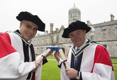 NUI Galway Honorary Doctorates for GIAF CEO and Artistic Director