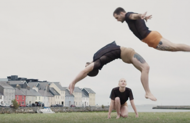 One of the world's top contemporary circus troupes bring Humans to GIAF18