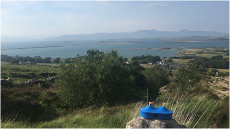Volunteer Coordinator Anika Massman visited Westport, Co. Mayo before Galway International Arts Festival 2018.