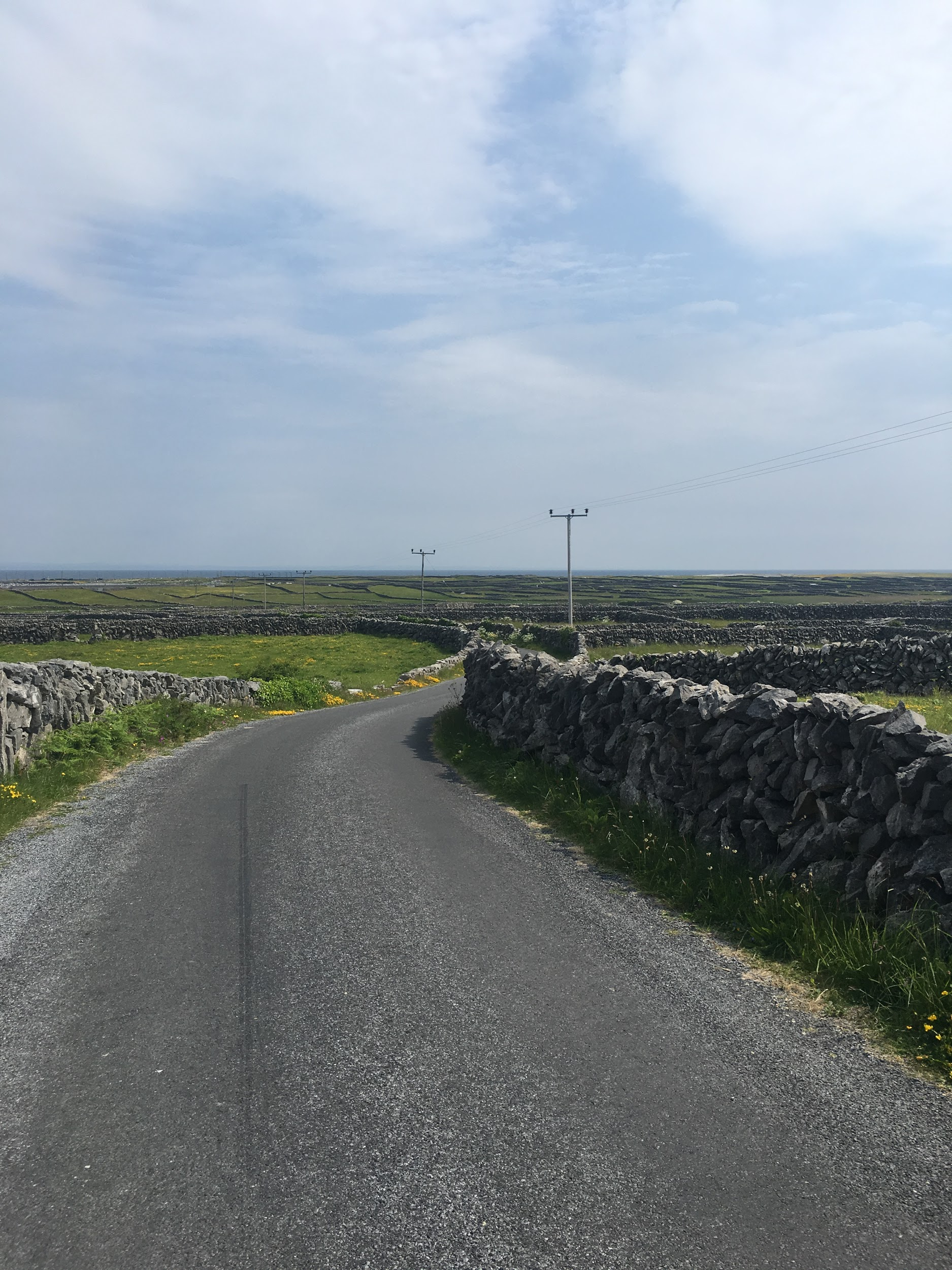 Volunteer Coordinator Anika Massman visited Inishmaan before Galway International Arts Festival 2018.