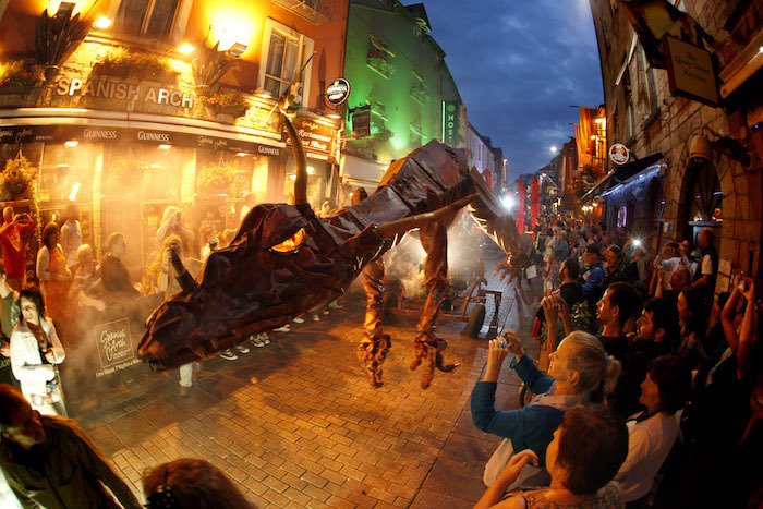 Dragons Galway Arts Festival 2013