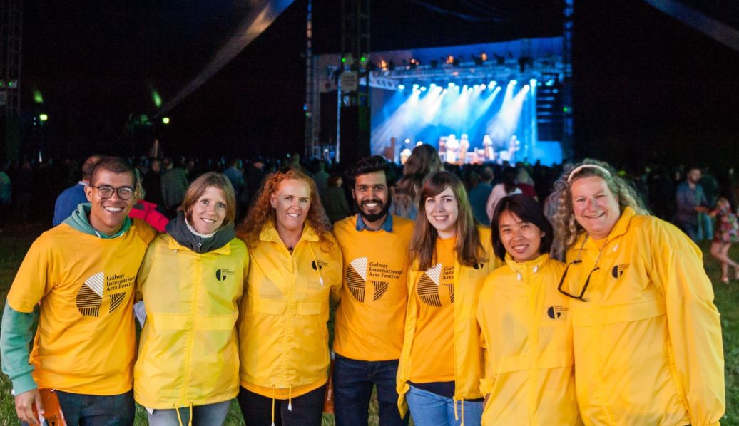Want to volunteer for GIAF's biggest Festival yet? Come chat to us!