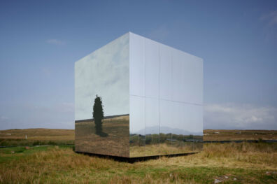 Mirror Pavilion, Leaf Work, Photo by Ros Kavanagh