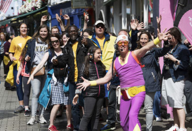Guru Dudu Takes to the Streets of Galway