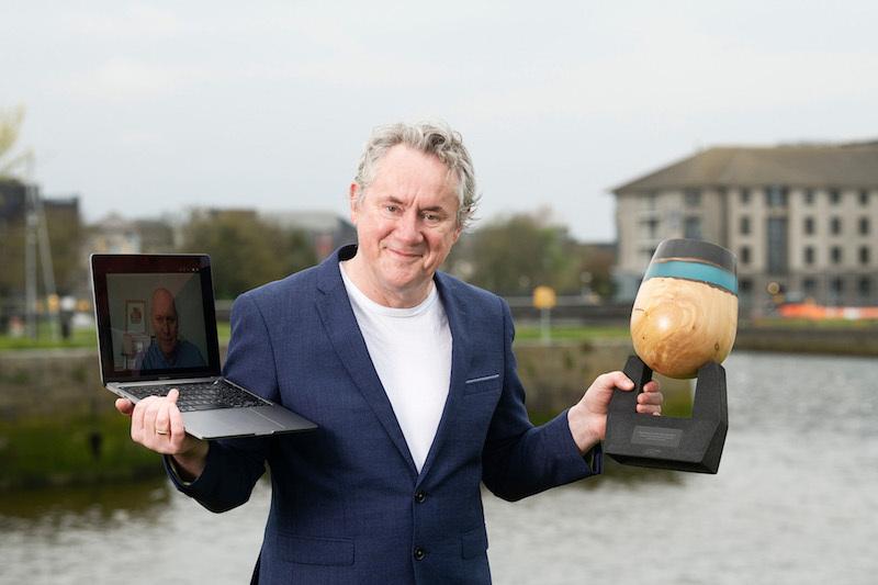 Galway International Arts Festival & Flogascelebrate major Business to Arts Award win for partnership onJohn Gerrard's Mirror Pavilion