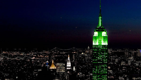 Global Greening Empire State Building