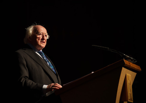 President Michael D Higgins First Thought Talk